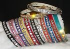 Rhinestone Luxury Dog Collars Bling! Crystal Jewels small pet sizes
