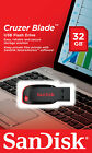 NEW SanDisk Cruzer 32GB BLADE USB Flash Pen Drive SDCZ50-032G 32 G RETAIL PACK