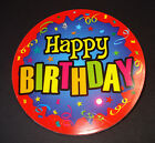"Geburtstags Button ""Happy Birthday"" mit 2x LED Gag Party Geburtstag Scherz Spaß"