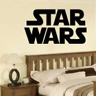 LARGE STAR WARS STARWARS LOGO CHILDRENS BEDROOM WALL MURAL STICKER ART TRANSFER