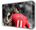 RYAN GIGGS MANCHESTER UNITED FC - GICLEE CANVAS ART