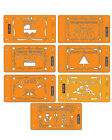 FISKARS Cardboss Stencils - CHOOSE YOUR OWN DESIGN - 7 choices-  Christmas etc