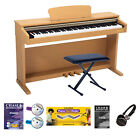 Chase Digital Electric Piano CDP-247 Rosewood or Black Colour 3 Pedals 88Keys