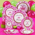 A New Little Princess Girl Baby Shower Party Supplies