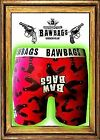 Bawbags Mens Boxer Shorts NEW COCK RED  S M L XL