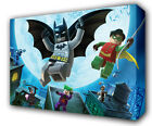 LEGO BATMAN & ROBIN - GICLEE CANVAS ART