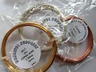 Copper Craft/Jewellery Wire - Silver Plated, Gilt or Copper 0.4 - 1.0mm Coils
