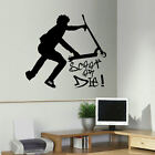LARGE STUNT TRICK SCOOTER CHILDREN BEDROOM WALL MURAL TRANSFER ART STICKER DECAL