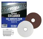 5M ROLL WINDOW DOOR FOAM DRAFT DRAUGHT EXCLUDER INSULATION WEATHER STRIP