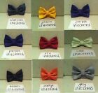 NEW MENS BOW TIES WEDDING TUXEDO FORMAL HIGH QUALITY SUIT BOWTIE TIE CHECKERED