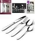 6 / 24 PCS CUTLERY SET SERVING DINNER STAINLESS STEEL FORK DESSERT AND TEA SPOON