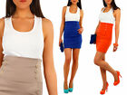 HOT! High Waist Elegant Pencil Skirt with Buttons Multicolours Size UK 8-12 FA09
