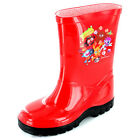 Boys SIZE 10 - 2 Red MOSHI MONSTERS Wellies Wellington Boots NEW