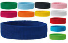MB Headband Sweatband 15 Colours Terry Cloth Great Quality Sport or Leisure