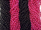 Pink Black Mardi Gras Beads Necklaces Party Favors 24 48 72 144 Choice
