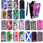 FOR NOKIA LUMIA 610 STYLISH PRINTED LEATHER MAGNETIC FLIP CASE COVER