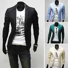 Handsome!! Men's Casual top Design Slim FIT Blazers Coats Suits Jackets Tops