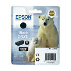 Genuine Epson 26XL / T2621 High Capacity Black Printer Ink Cartridge