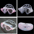 Adult swim Swimming Mask Goggles Anti-Fog glasses Silicone strap comfortable New