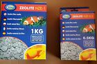 Zeolite Ammonia Remover Aquarium Pond Koi Filter Media 1kg  or 500g in Net