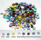 Mixed lots of Colour Cubic Zirconia AAA Round Brilliant Cut CZ