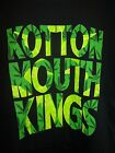 KOTTONMOUTH KINGS LEAF LETTERING T-SHIRT NEW !