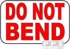 DO NOT BEND Mini Labels Stickers 65's BEST VALUE 240 to 5200 RED Print FRA-08-65