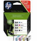 HP 364 Genuine Printer Ink Cartridges Multipack