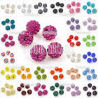 5/10/20/50Pcs DIY Disco Balls Beads Pave Crystal Rhinestone Friendship Shamballa