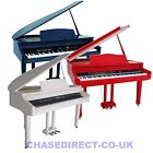 Chase CDP-520 Digital Electric Baby Grand Piano In High Gloss Black White Or Red