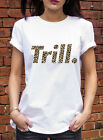 TRILL Leopard T-Shirt DOPE ASAP rocky A$AP Mob Hip Hop rap Mens Womans L0183