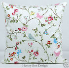 Clarke and Clarke vintage chic Bird Trial cushion cover.16 inch, zip shabby chic