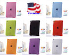 Transparent Clear Color Back smart Cover Case+Screen Protector for iPad Mini