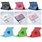 Smart Cover Leather 360 Rotating Sleep Wake Case For Apple iPad 4 New iPad 3rd 2