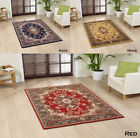EXTRA LARGE-LARGE-MEDIUM RED NAVY BEIGE CLASSIC TRADITIONAL AREA BUDGET RUGS