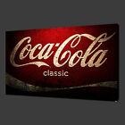 COCA COLA VINTAGE CANVAS PRINT WALL ART MODERN DESIGN READY TO HANG £19.99  on eBay
