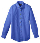 Edwards Garment Women's Button Pocket Long Sleeve Poplin Blouse Shirt. 5280
