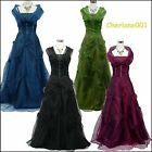 Cherlone Satin Sparkle Lace Prom Long Ball Wedding/Evening Bridesmaid Gown Dress