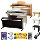 Digital Piano Electric Upright 88 Notes Hammer Action + Stool