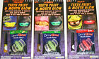 HALLOWEEN - TEETH PAINT & MOUTH GLOW LIGHT KIT – YELLOW - ZOMBIE or BLACK – NIP