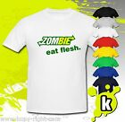 Zombie eat flesh Funny T-Shirt