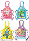 CHILDRENS PEVA WIPEABLE/WATER PROOF CHARACTER TABBARD APRON BIB WITH TIES