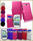 SAMSUNG GALAXY FAME S6810 FLIP BOOK WALLET LEATHER CASE COVER FREE SCREEN GUARD