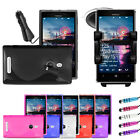 Car Holder + Car Charger For Nokia Lumia 925 FREE CASE