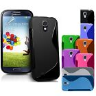 Galaxy Samsung S4 i9500 S-Line TPU Case Silicone Cover Cell Phone Protector