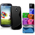 Samsung Galaxy S4 i9500 S-Line TPU Case Silicone Cover Cell Phone Protector