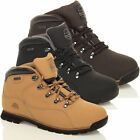 Mens Size 7 - 13 Leather Steel Toe Cap Safety GROUNDWORK Work Boots Brown Black