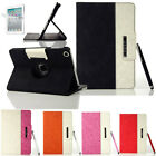New 360 Degree Rotating PU Leather Case Cover w Swivel Stand For Ipad Mini
