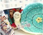 super cute big snail plush toy stuffed cushion home decoration birthday gift 1pc