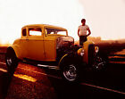 AMERICAN GRAFFITI 1932 FORD HOT ROD MUSCLE CAR GLOSSY MOVIE 8X10 COLOR PHOTO